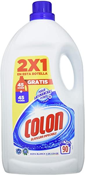 Detergente Colon Gel Blancura Impecable (90 lavados)