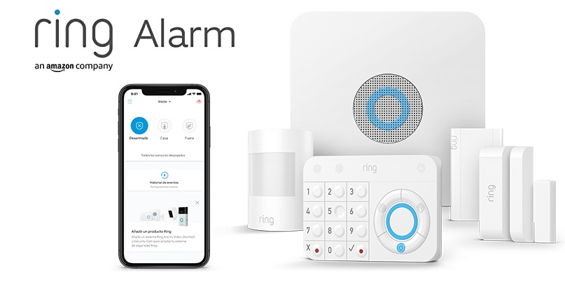 Nuevo kit de 5 piezas Ring Alarm de Amazon (2.ª generación)