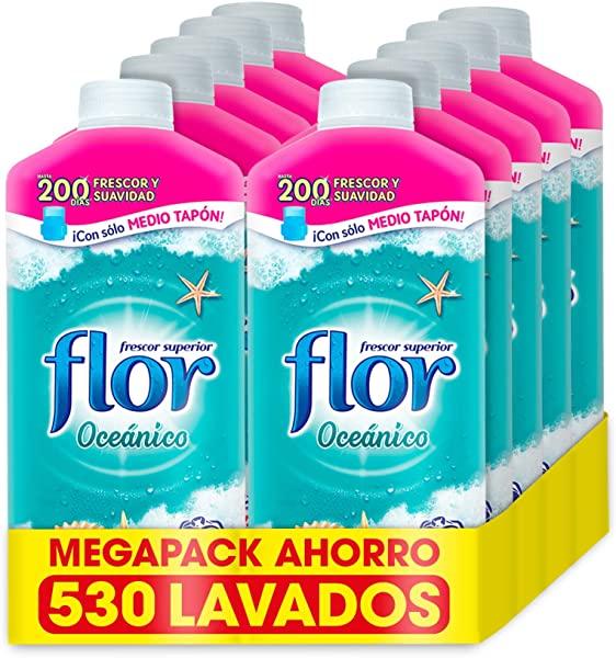 Pack 10 Suavizante Flor Oceánico concentrado