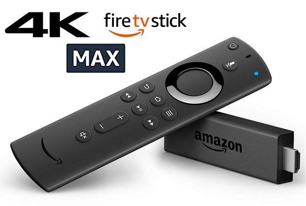 Fire TV Stick 4K Max con Wi-Fi 6 y mando por voz