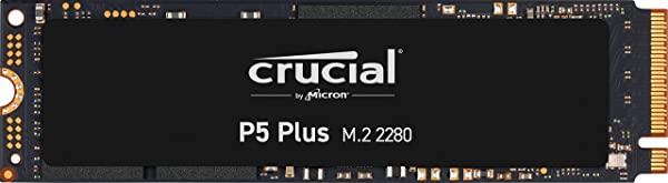Crucial P5 Plus PCIe 4.0 SSD m.2 NMVE 3D NAND