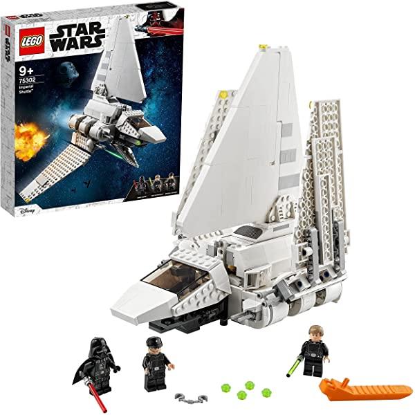 LEGO Star Wars Lanzadera Imperial con mini figuras (75302)