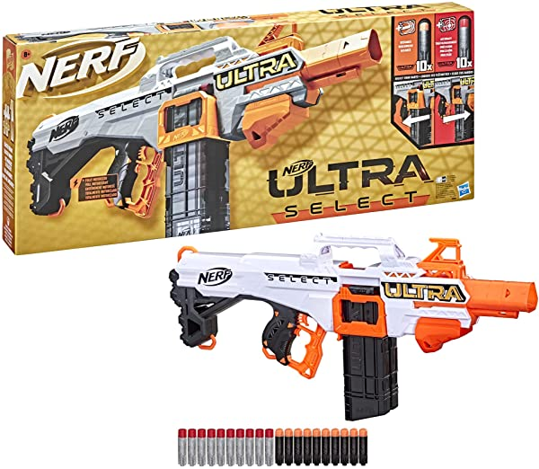 Lanzador motorizado Nerf Ultra Select
